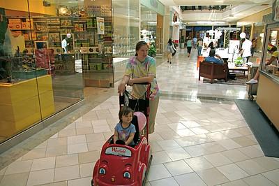 Kelli at the Mall
