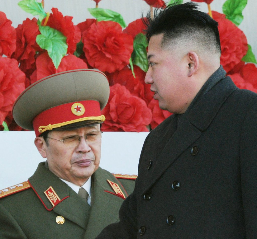 """. <p>7. (tie) JANG SONG THAEK <p>Kim Jong Un�s uncle purged for committing �anti-state� crimes such as speaking freely and eating two meals a day. (unranked) <p><b><a href=\'http://www.twincities.com/breakingnews/ci_24682017/north-korea-says-kims-uncle-removed-from-power\' target=\""""_blank\""""> HUH?</a></b> <p>    (AP Photo/Kyodo News)"""