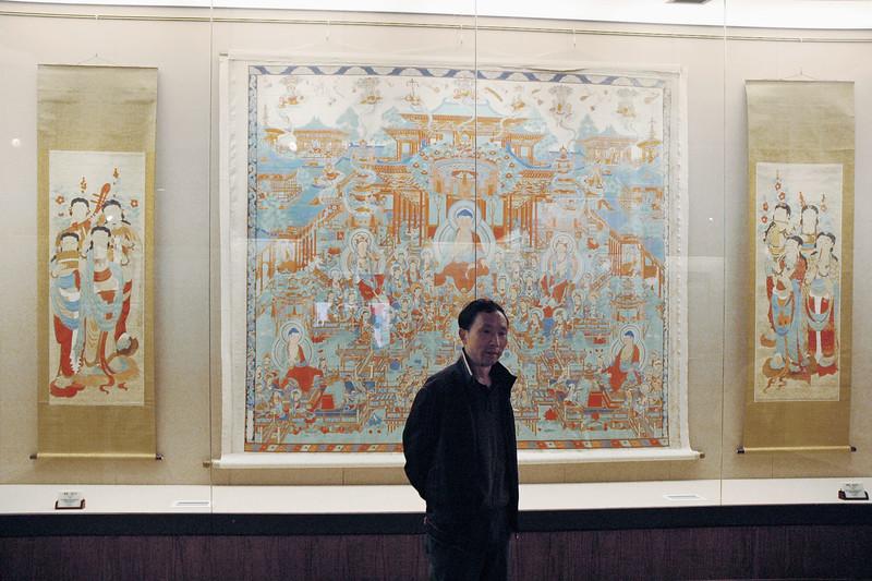 Zhang Daqian paintings from Dunhuang, Sichuan Provincial Museum, Chengdu, 2009