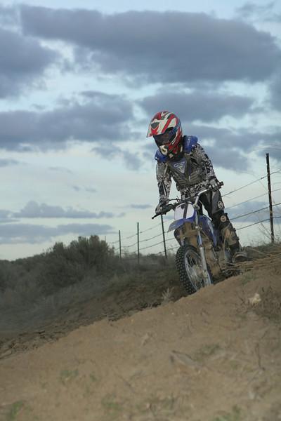 2008 Desert 100-- Play Area Short Track   Blue Bikes