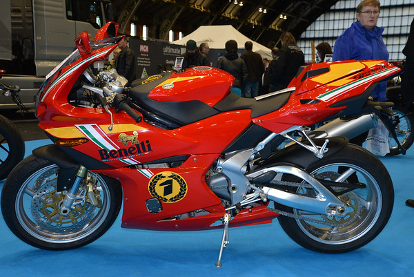 Manchester Central Motorcycle show 2014