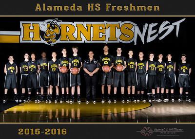 Alameda High Basketball Freshman