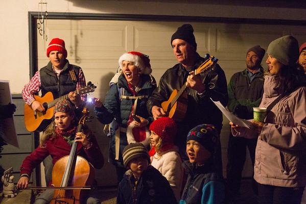 Christmas Caroling 2013
