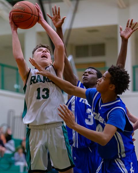 Middle School Basketball | Central Dauphin vs. Steelton-Highspire | February 10, 2020