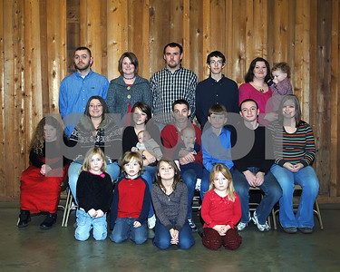 The Conner Grandchildren & Great-Grandchildren, December 14, 2008.