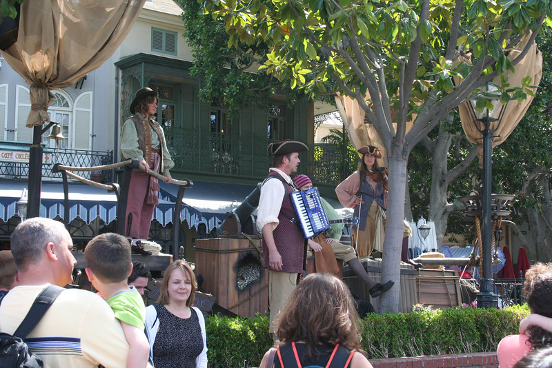Pirate show in New Orleans Square