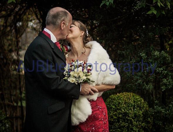 Gill & Andy winter wedding