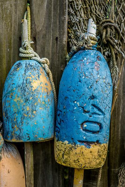 Crab pot buoys