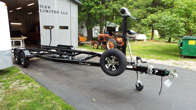 Front view of the new trailer.