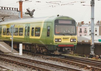 Dublin Area Rapid Transit CIÉ 8200-8400 Class (Alsthom)
