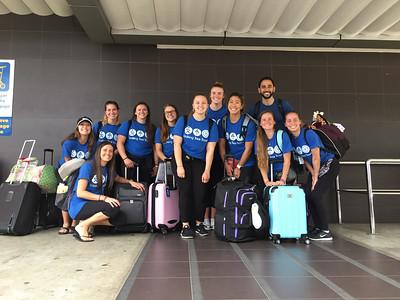 2017 Alma College Cheer Team Costa Rica Program