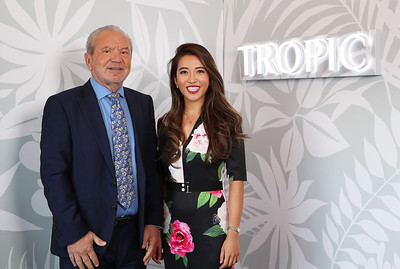 5/3/19 - Lord Sugar unveils Tropic's new Croydon headquarters.