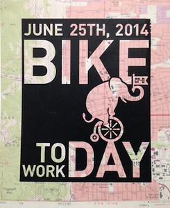 BDR Bike to Work Day 2014