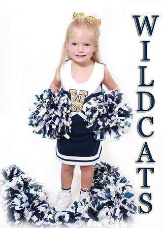 Evans Wildcats Cheerleaders 2010