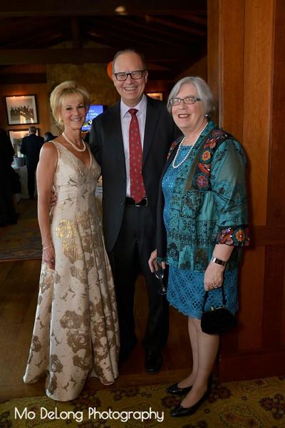 Kathleen Woodcock and John and Trish Godsey