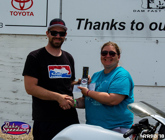 2018 - Oahe Speedway Winners Circle - 05-28-18