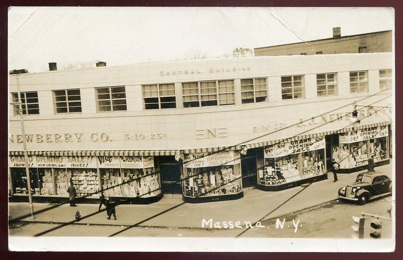 MASSENA New York 1920s Newberry Department Store.jpg