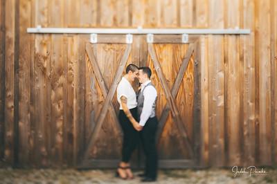 Janessa & Sabrina - Wedding Ceremony - Merridale Cidery & Distillery | Cobble Hill,  Victoria, BC