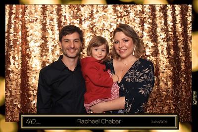 40 anos Raphael Chabar