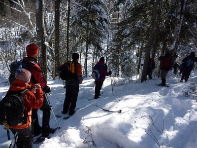 Sentier de l'ours  (30 janvier 2010)