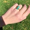 Vintage Bypass Gemstone Ring 5
