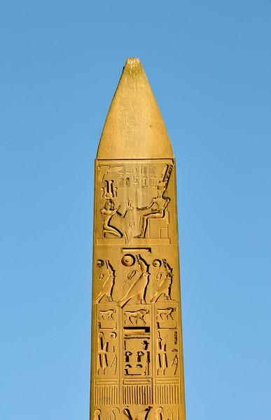 Red Granite Obelisk at Luxor Temple