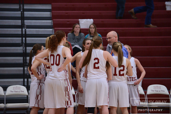 Varsity Girls vs Guntersville 02-06-15