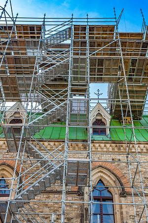 Gothic Building Restoration