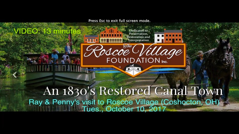 Ray & Penny visit Roscoe Village, Tue., Oct. 10, 2017