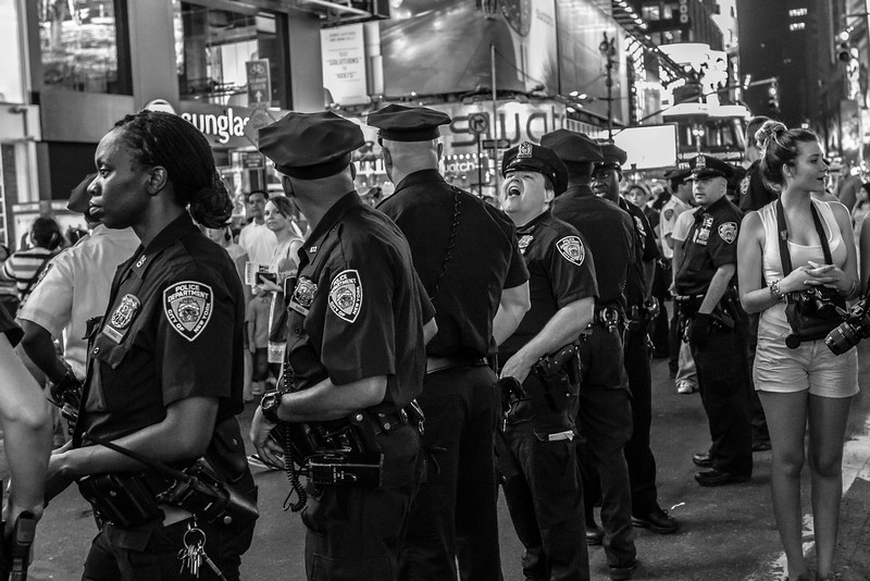 Policing the Protest against the George Zimmerman Verdict, July 14th Times Square