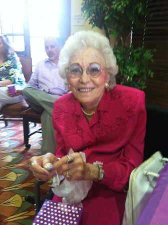 Monnie Pior Franklin 87th birthday