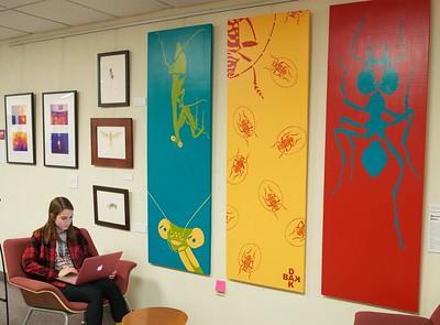 2015 UWL Second Shift Art Show Murphy Library