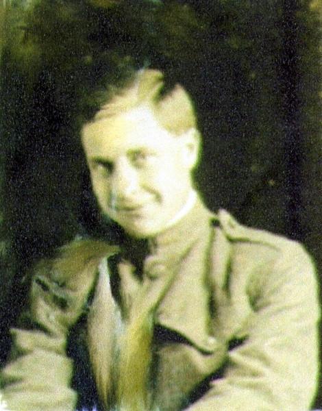 Vernon J. Eldredge, France, 1917