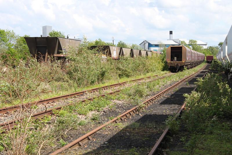HAAs and HTAs Stored in Worksop Tranker Lane Yard, 08/05/11.
