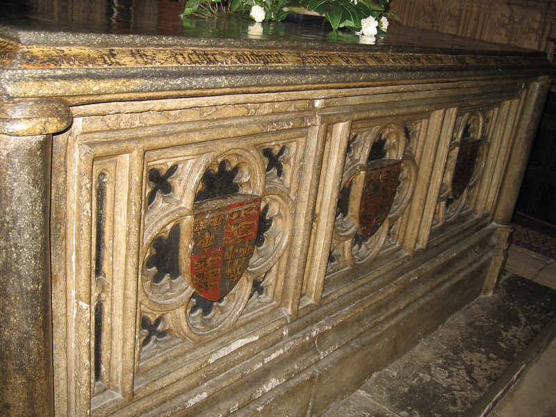 Tomb of Arthur, Prince of Wales, older brother of Henry VIII, Worchester Cathedral