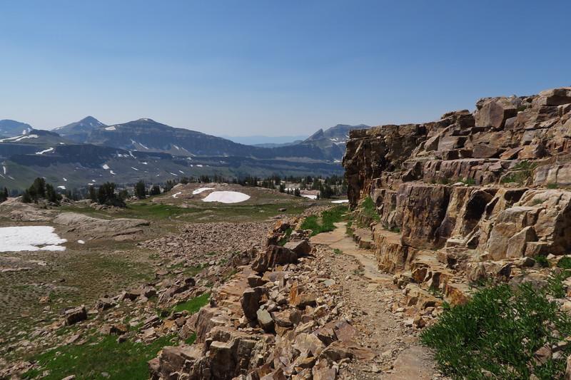 These rocks make a great resting spot - Upper Alaska Basin Shelf