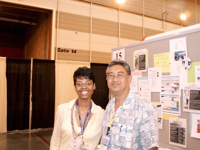 1st FAL Poster Session for 2006 ALA Diversity Fair