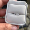 1.47ctw Carre Cut Diamond Pair GIA F VS2 39