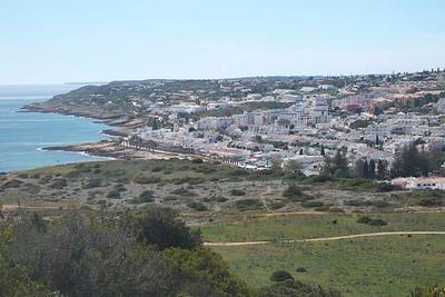 Praia da Luz : above ground level