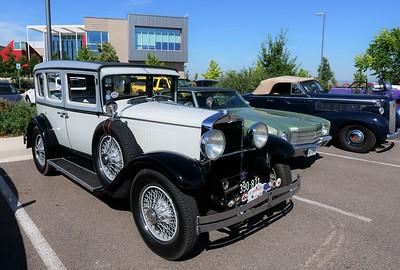 Vintage Motor Car Club of America visits Aims Automotive
