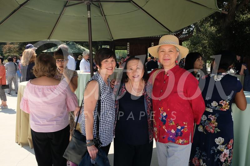 Diane Jeng Wong, Ginny Lew and Anna Seu