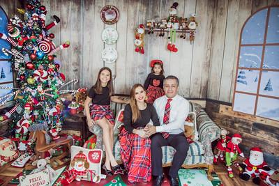 6. Paola Cardona y Familia Christmas 2019