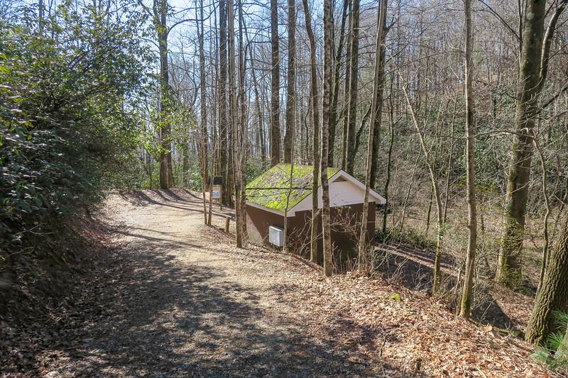 Raven Cliff Falls Trail -- 2,930'