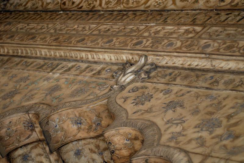 Red Fort pavillion ceiling.jpg