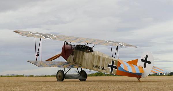 TVALs new Fokker DVII