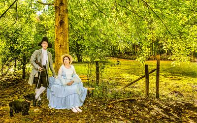 After Gainsborough - Mr & Mrs Senior!