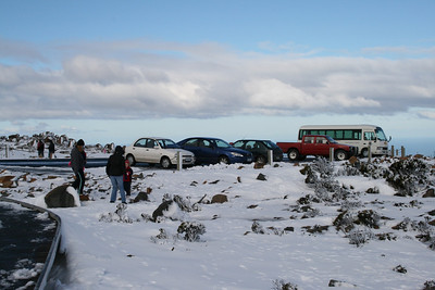 Snow on Kunanyi 20082008