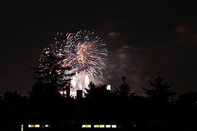 Boston fireworks July 4, 2011