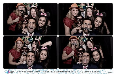 NYC 2017-12-13 MSH Administration Holiday Party 2017