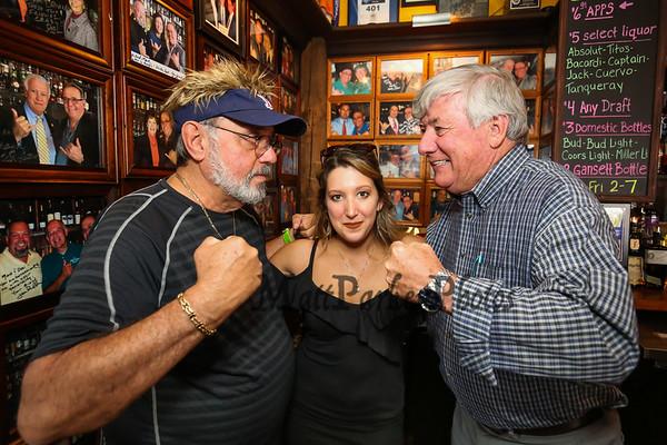 2017-8-1 Desi Lanio and John Nyhan at the 401 Tavern.  Matt Parker Photos